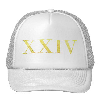 XXIV 24K Gold Trucker's Hat