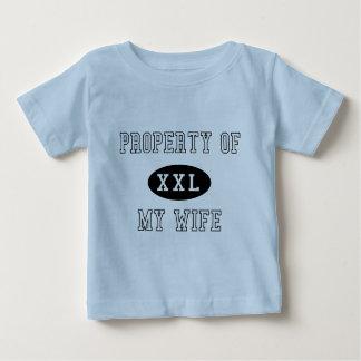 XXL Property Of My Wife T Shirts
