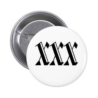 XXX 2 INCH ROUND BUTTON