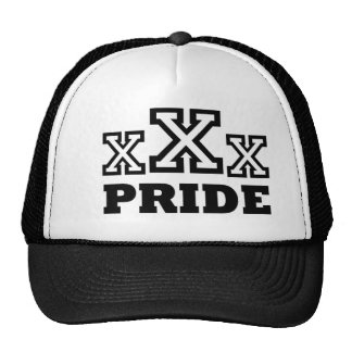 XXX CAP TRUCKER HAT