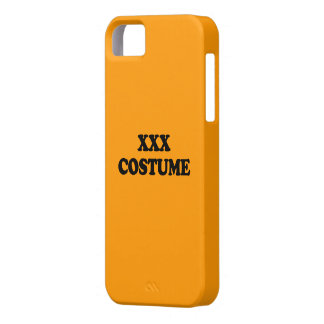 XXX COSTUME - - Halloween Cover For iPhone 5/5S
