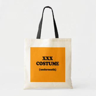 XXX COSTUME - Halloween - png Canvas Bags