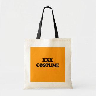 XXX COSTUME - - Halloween - png Canvas Bag