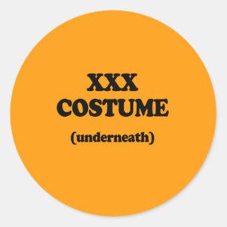 XXX COSTUME - Halloween - png Sticker