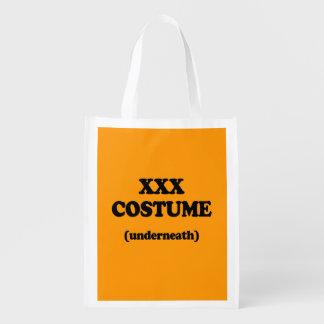 XXX COSTUME - Halloween - png Market Tote