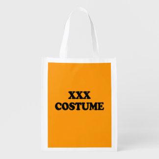 XXX COSTUME - - Halloween - png Market Tote