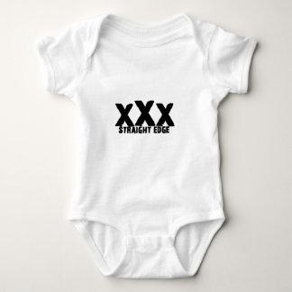 xXx Straight Edge Baby Bodysuit