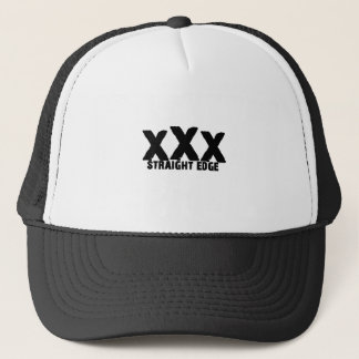 xXx Straight Edge Trucker Hat
