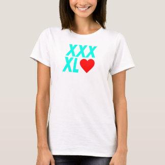 XXXL(heart) - Green T-Shirt
