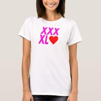 XXXL(heart) - Pink T-Shirt