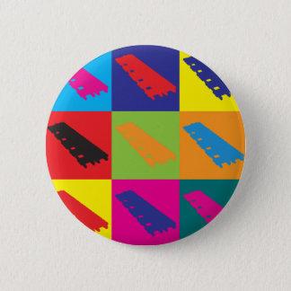 Xylophone Pop Art 2 Inch Round Button