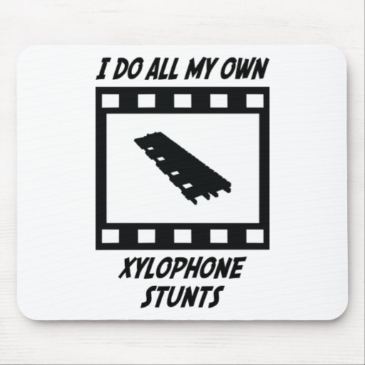 Xylophone Stunts Mouse Pads