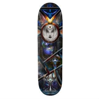 Xzendor7 Realm Of Fractal Fantasies Matrix Skatebo Skateboard Decks