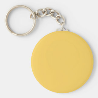 Y07 Calm Mustard Yellow Colour Keychain