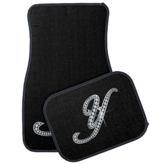 "Y Faux-""Diamond Bling"" Car Mat"