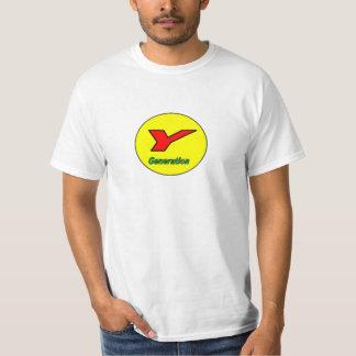 Y Generation or Millennial T-shirt