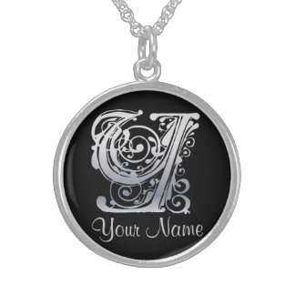 Y Initial with Your Name Necklace