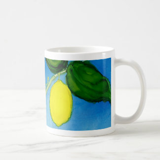 Y is for Yellow alphabet art mug