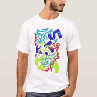 YA Graffiti Design T-Shirt