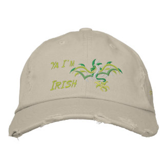 Ya I'm Irish Embroidered Hat