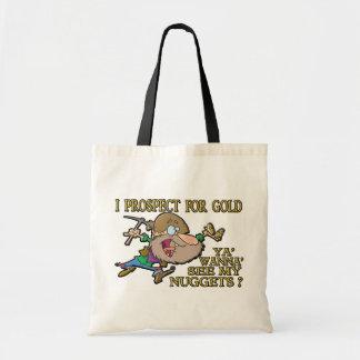 Ya' Wanna' See My Nuggets ? Budget Tote Bag