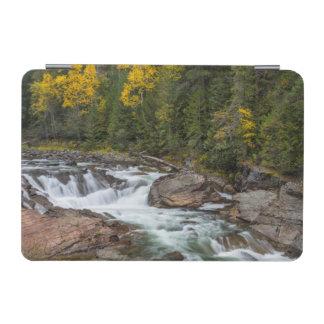 Yaak Falls In Autumn In The Kootenai National iPad Mini Cover