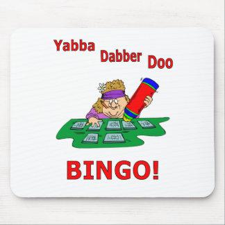 Yabba Dabber Doo - BINGO Mousepads