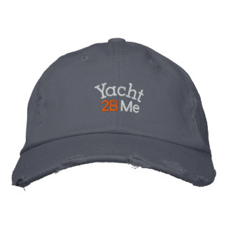 Yacht 2B Me™_Casual Embroidered Hat