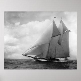 Yacht America c1910 Poster