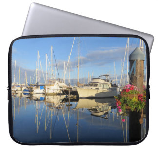 Yacht and Sailboat Marina Laptop Sleeve