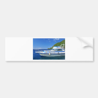 Yacht Bumper Sticker