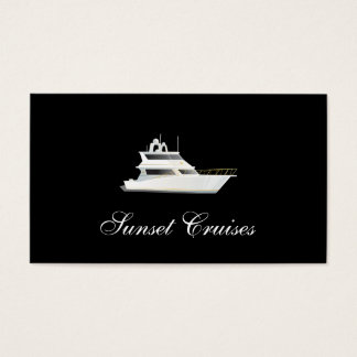 Yacht Business Card
