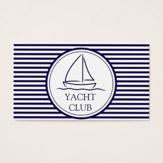 Yacht Club Business Card