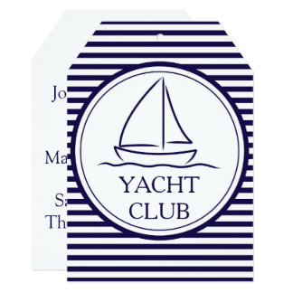 Yacht Club Card