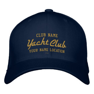 Yacht Club Personalizable Cap