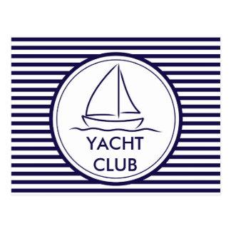 Yacht Club Postcard