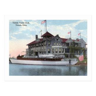 Yacht Club, Toledo, Ohio 1914 Vintage Postcard