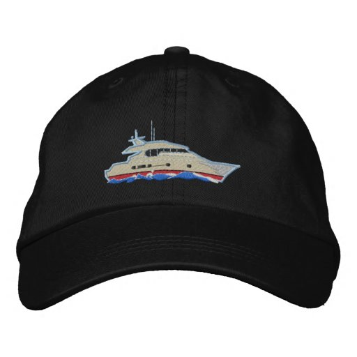 Yacht Embroidered Baseball Caps