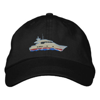 Yacht Embroidered Hat
