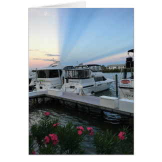 Yacht Greeting Card