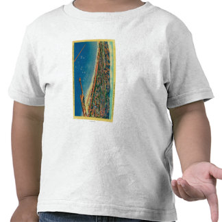 Yacht Harbor, The Palisades, and Santa Monica Tshirt