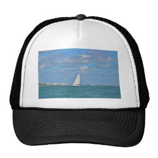 Yacht Near Eastbourne Trucker Hat