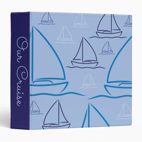 Yacht pattern 3 ring binders