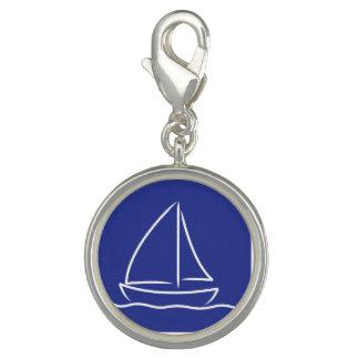Yacht pattern charm