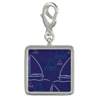 Yacht pattern charms