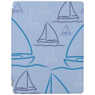 Yacht pattern iPad cover
