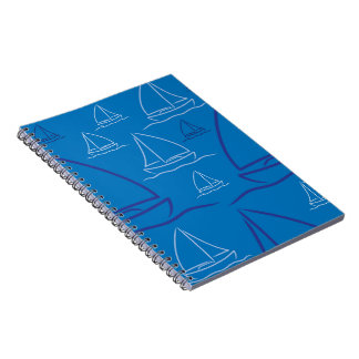 Yacht pattern notebooks