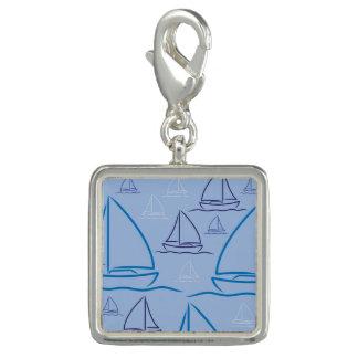 Yacht pattern photo charm