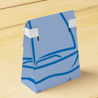Yacht pattern wedding favor boxes