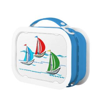 Yacht Racing Trio Lunch Box